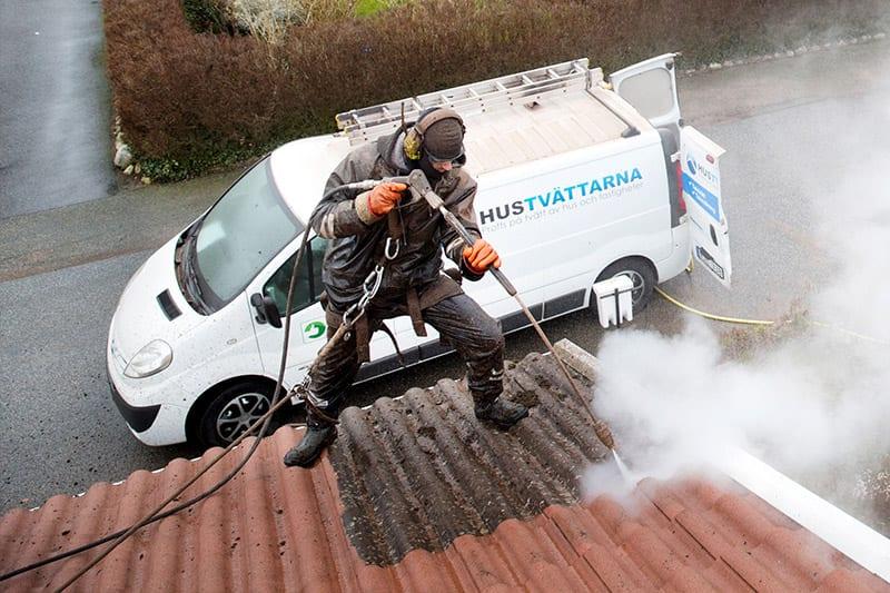 Taktvätt över hela Skåne.