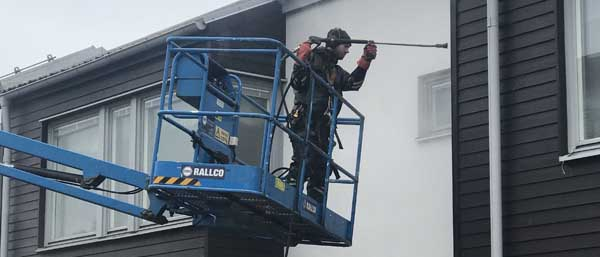 Fasad- och taktvätt